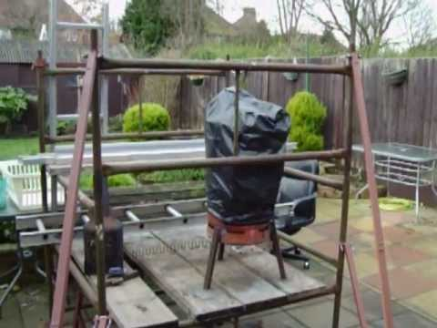 Tower Scaffold   Home Made Stabilisers,,