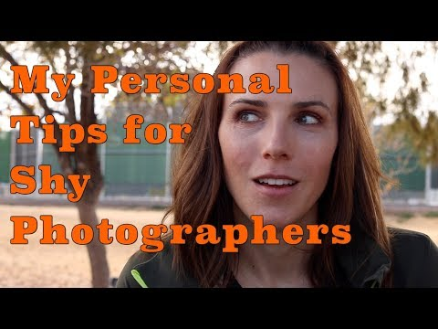 My Personal Tips for Shy Photographers