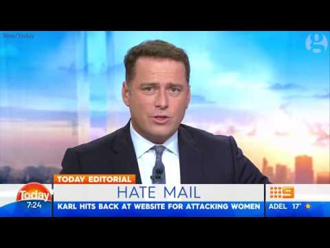 Karl Stefanovic berates Daily Mail for running 'cheap, lazy, sexist' stories