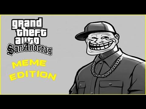 GTA San Andreas: Meme Edition