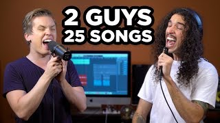 2 Guys, 25 Songs (SING OFF vs. Ten Second Songs)