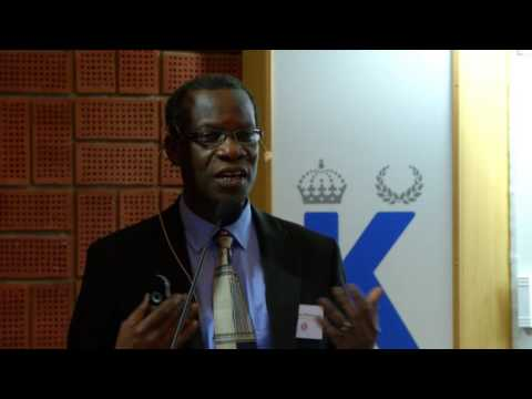 Prof. Isaac Odame - Management of sickle cell disease: finding solutions in low resource settings