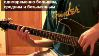 Уроки гитары: Metallica - Nothing Else Matters (Часть 1)