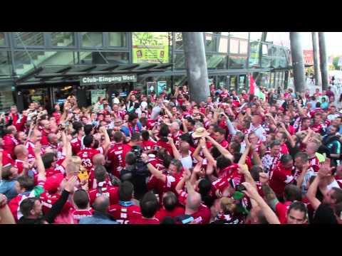 MKB MVM Veszprém Handball Fans in Köln FF