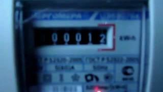 видео Электронная схема устройства чтобы остановить счётчик электроэнергии