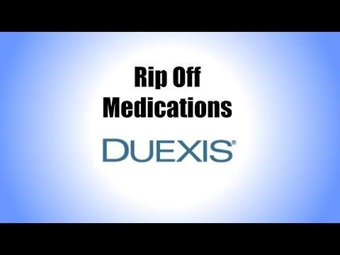 Rip Off Medications: Duexis (The Research Excuse)