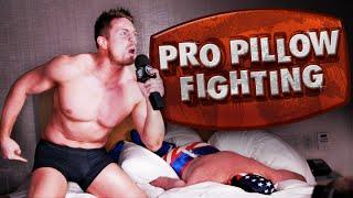 Pro Pillow Fighting With The Miz