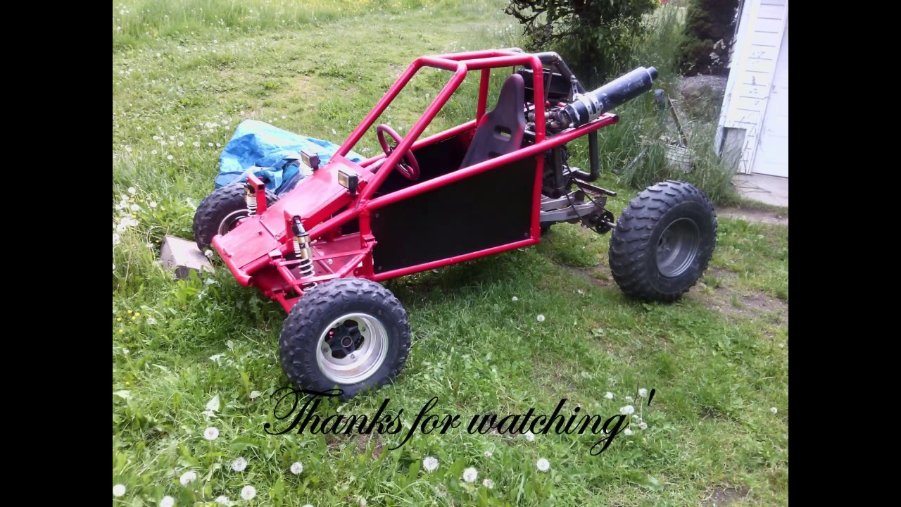 Kart Cross Buggy Build Buggy Build Simple Full Suspension Buggy