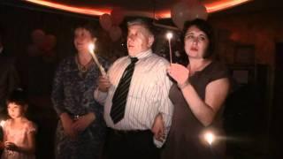 LorkDiamond Свадебные свечи на столе Танец молодых.mpg
