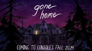 Gone Home - Console Announcement Trailer