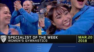 UCLA's Katelyn Ohashi nabs Pac-12 Women's Gymnastics Specialist of the Week award