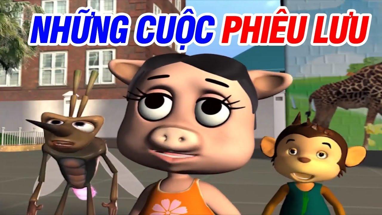 Phim Hoạt Hình 3D Thiếu Nhi 2018 – NHỮNG CUỘC PHIÊU LƯU | Phim Hoạt Hình Cho Bé – Cartoon for kids