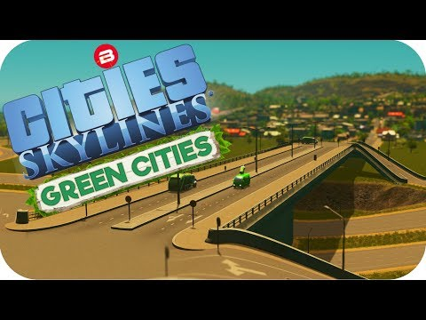 Cities: Skylines Green Cities ▶ON & OFF RAMPS!◀ Cities Skyli