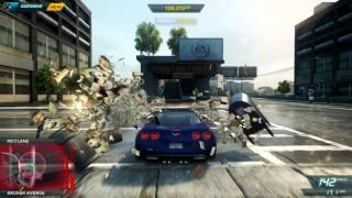 Need For Speed Most Wanted PC Gameplay #4 by Web-Games.it - Corvette Pursuit