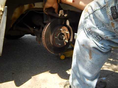 Front Brake Pad Replacement 1999 Buick Century Custom ...
