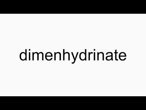 Dimenhydrinate