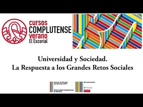 Universidad y Sociedad. La Respuesta a los Grandes Retos Sociales. UCM