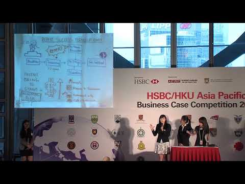 2017 Round 4 City University of Hong Kong - HSBC/HKU Asia Pacific Business Case Competition
