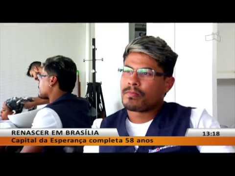 Imigrantes e refugiados tentam reconstruir a vida em Brasília