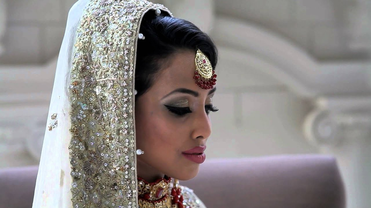 pakistani bridal makeup & hair by naima ahmad washington, dc metro