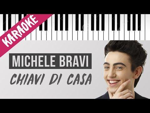 Michele Bravi | Chiavi Di Casa | Piano Karaoke con Testo