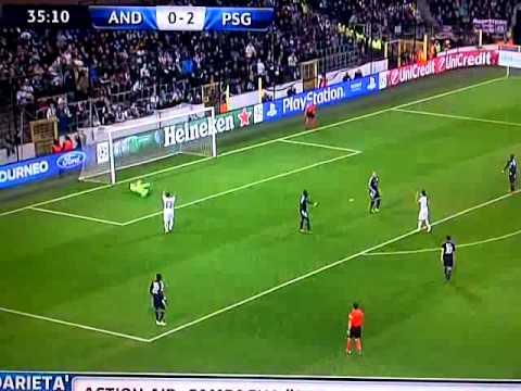 Super Goal Zlatan Ibrahimovic - PSG vs Anderlecht 23/10/13