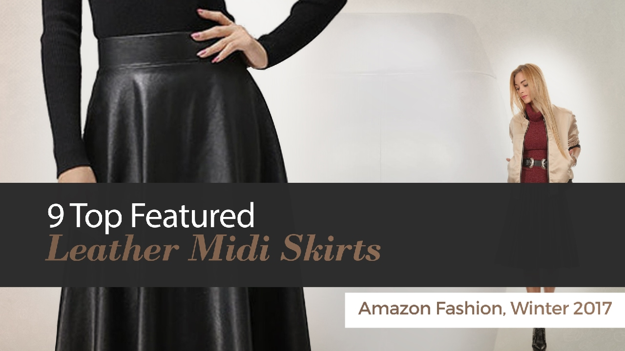 Leather Midi Skirt Forever Faux Black Outfit