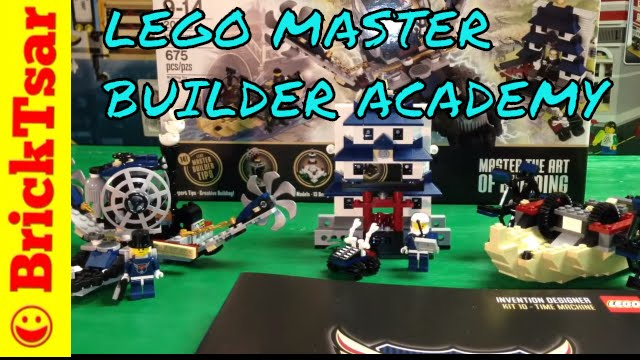 LEGO 20215 Master Builder Academy #4 Invention Designer Kits 10,11 ...