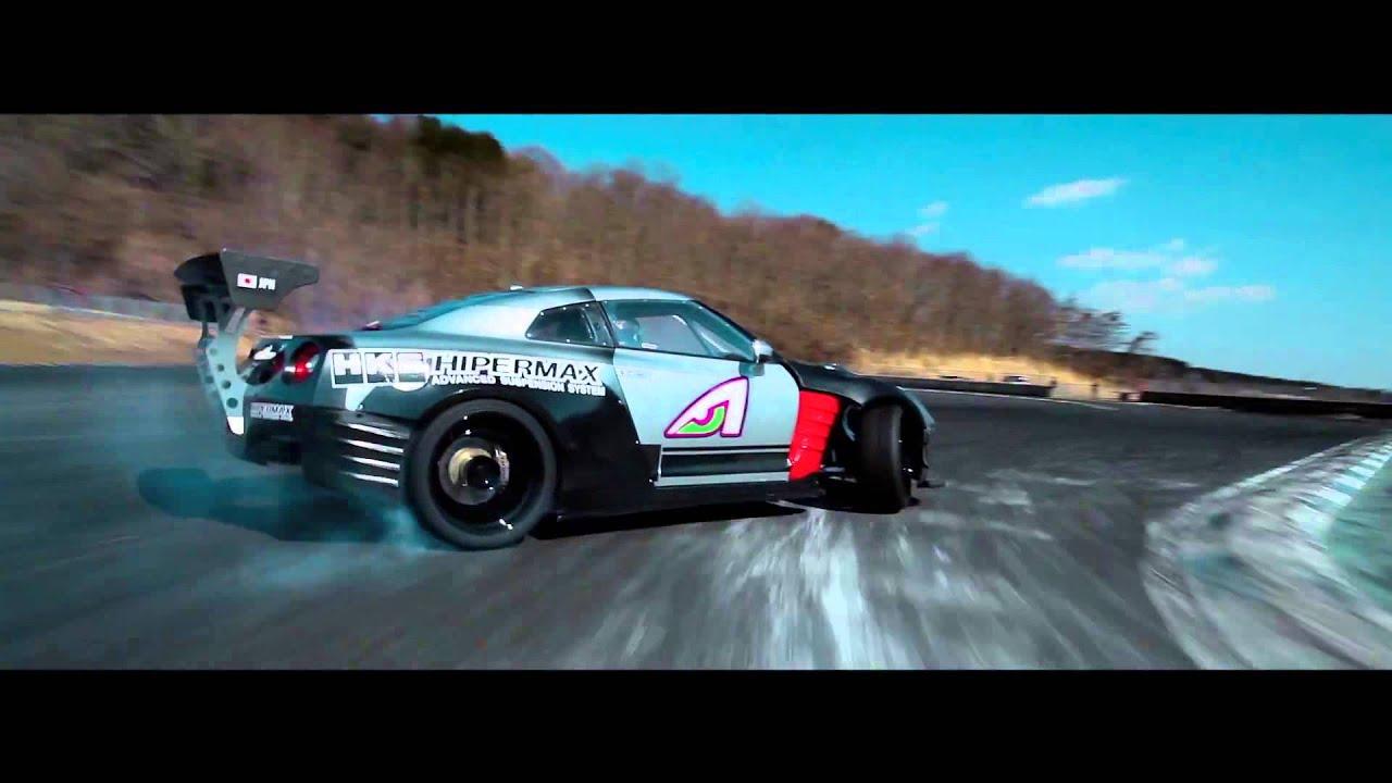 Daigo Saito's 1000hp Hks R35 Gtr Formula D Shakedown  Youtube