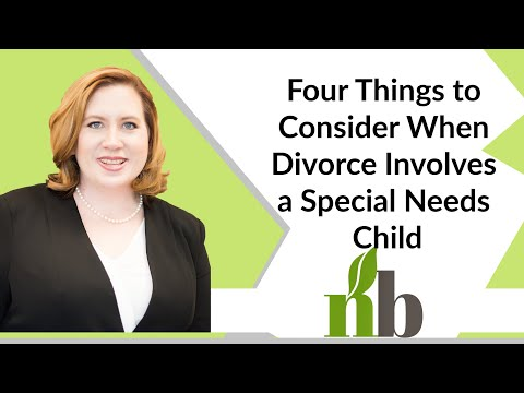 Four Things to Consider When Divorce Involves a Special Needs Child | Attorneys Huntsville Alabama