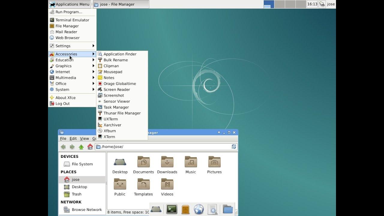 Install Debian 8
