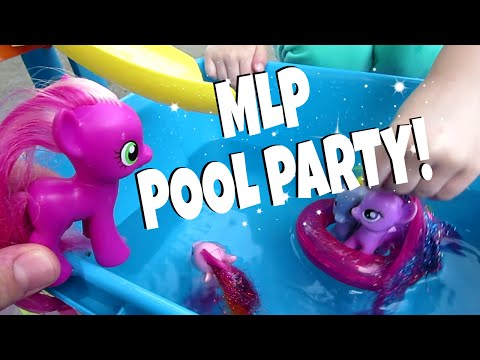 MY LITTLE PONY POOL PARTY! | MayMommy2011