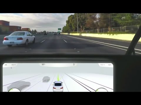 self-driving car platform visualized by DVHardware on YouTube