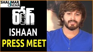 Ishaan Press Meet about Rogue Movie || Puri Jagannadh, Angela, Mannara Chopra