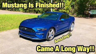 Rebuilding My Totaled Wrecked Frame Damage 2018 Ford Mustang GT Copart Salvage Auction Finished