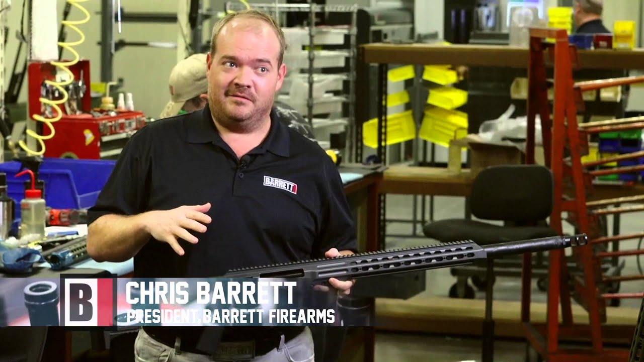 Barrett Model MRAD 338 29