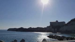 ホントは小名浜の海水浴場に行く予定(自動車免許の合宿で行ったことある...