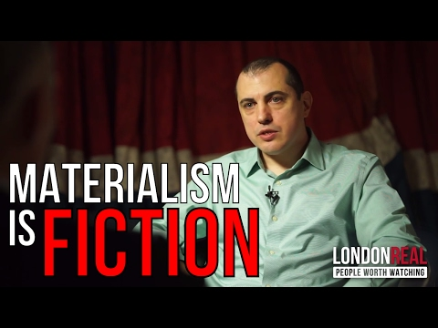 Materialism is a FAKE ILLUSION | Andreas Antonopoulos on society | London Real