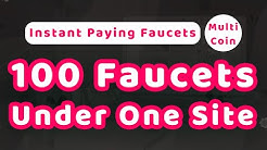 Instant Paying 100 Faucet Under One Account Claim Every 4 Minute
