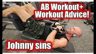 Abs and Workout Advice, Johnny Sins Vlog #15 || SinsTV