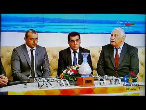 Zorxana millimiz Idman kanallinda. Zurkhaneh National Team on Sport TV Azerbaijan. (part 1)