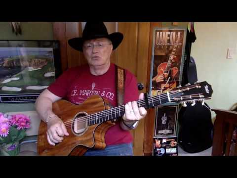 2245 -  For The Good Times -  Ray Price cover -  Vocals -  Acoustic guitar & chords