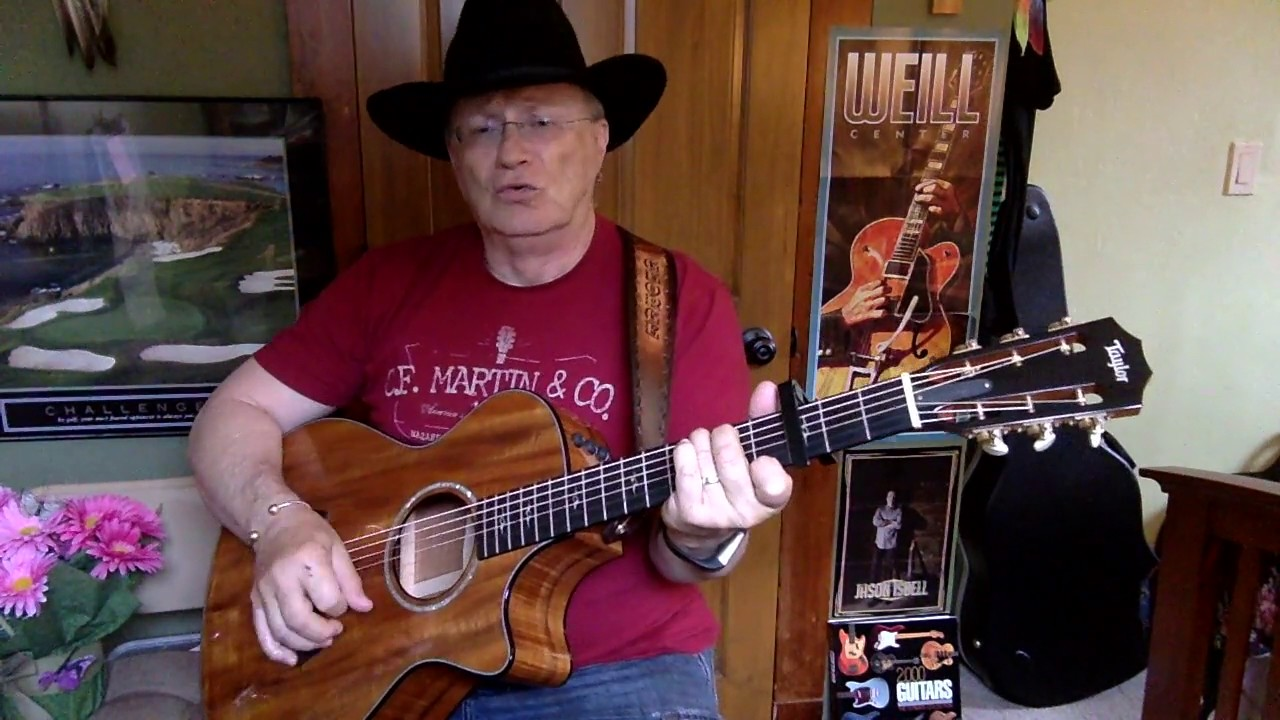 2245 For The Good Times Ray Price Cover Vocals Acoustic