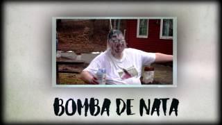 PUTOLARGO - BOMBA DE NATA PROD. ACCIÓN SÁNCHEZ Y HAZHE (LYRIC VIDEO OFICIAL)