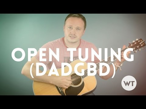 Guitar Lesson: Alternate Tuning - DADGBD