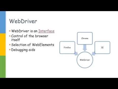WebDriver Interface