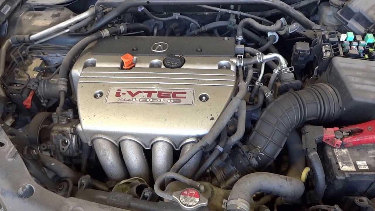 Acura TSX Used Engine With Miles YouTube - 2007 acura tsx engine
