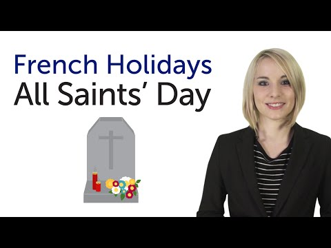 Learn French Holidays - All Saints' Day - Toussaint