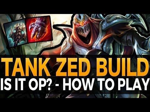 Cách chơi và lối lên trang bị Zed Đấu Sĩ