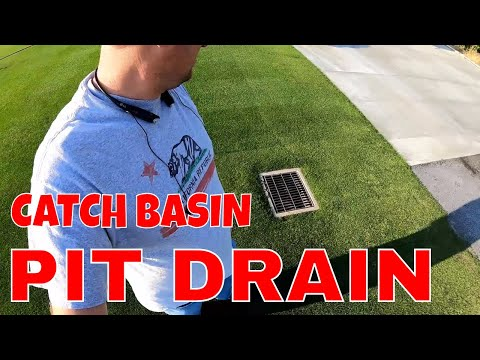 NDS CATCH BASIN AND PIT DRAIN. French Drain // Connor Ward